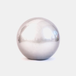Nouvelle boule blanc brillant 50 cm résine