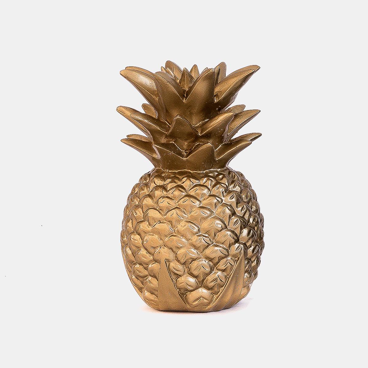 Ananas or 25 cm résine