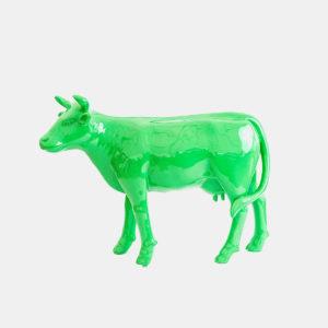 Vache vert 1M résine