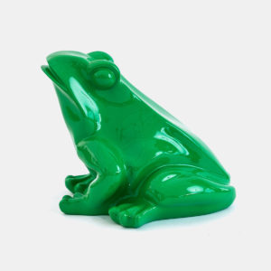 Grenouille vert 30 cm résine