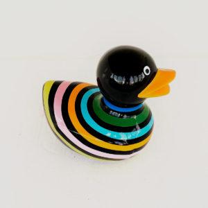 Canard multicolor résine