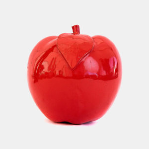 Pomme couleur résine