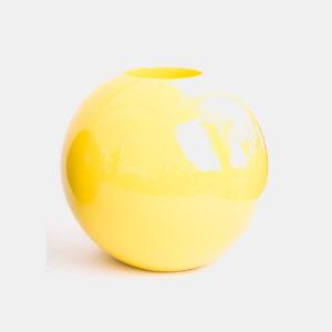 Pot jaune résine